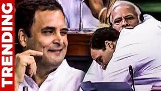 Modi-க்கு Rahul Gandhi தந்த கட்டிப்பிடி வைத்தியம் !   சிரிப்பில் மூழ்கிய பாராளுமன்றம்