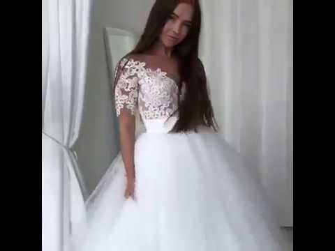 European wedding dress