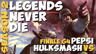 COMPANY OF HEROES 1 - Dęmo rush feat. NoLuckyStrike ★ Legends Never Die Turnier, Season 2 ★