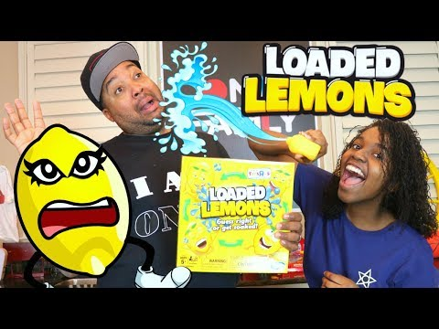LOADED LEMONS WATER GAME CHALLENGE!!! - Onyx Family