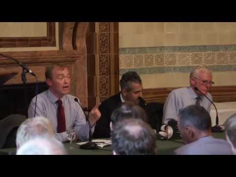 Liberalism, free speech and extremism: Liberal Democrat Leadership Hustings