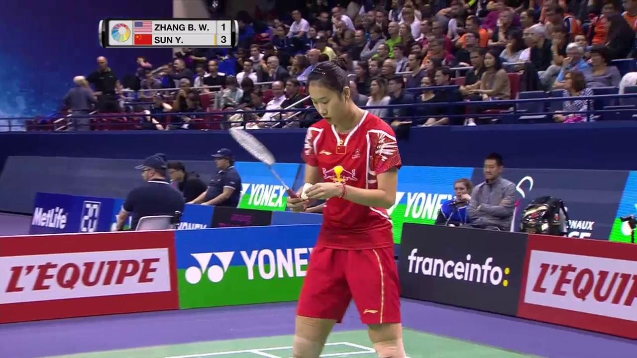 Yonex French Open 2016 Badminton SF M2 WS