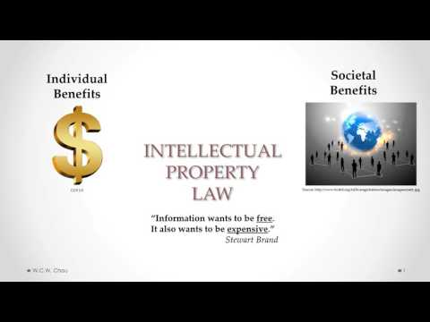 Intellectual Property Law:   Balancing individual rights and societal benefits
