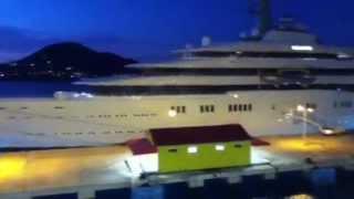 The World's Biggest Mega Yacht Eclipse - St Marten (HD)