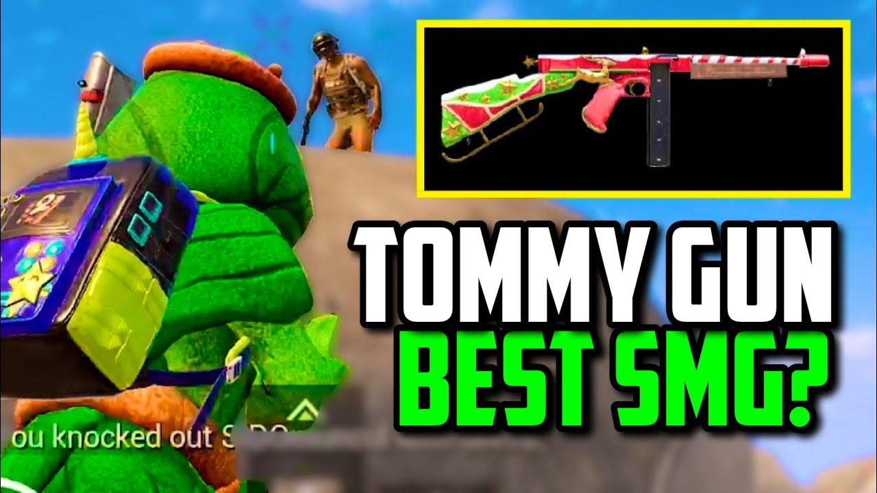 WHEN FEITZ USES TOMMY GUN ON KARAKIN! | PUBG Mobile
