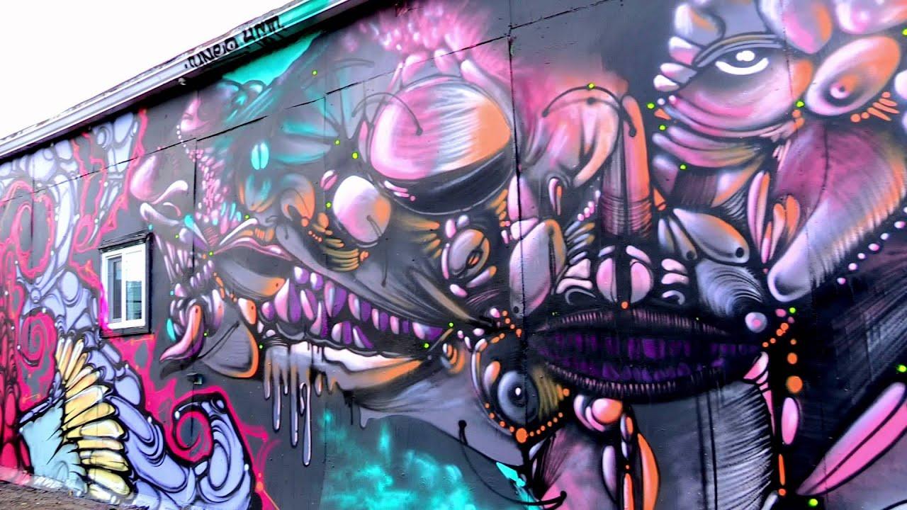 Graffiti wall calgary - Graffiti Jam