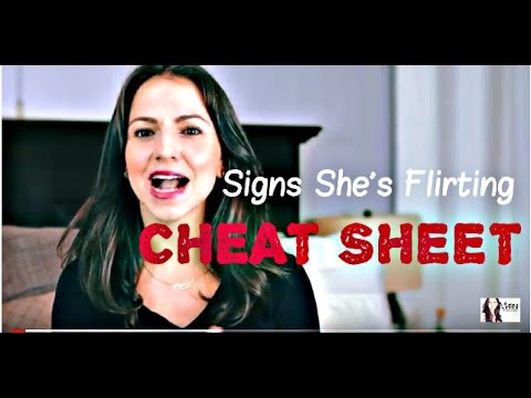 flirting signs for girls photos today show 2016