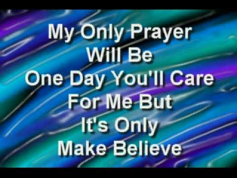 Conway Twitty- It's Only Make Believe **WITH LYRICS**