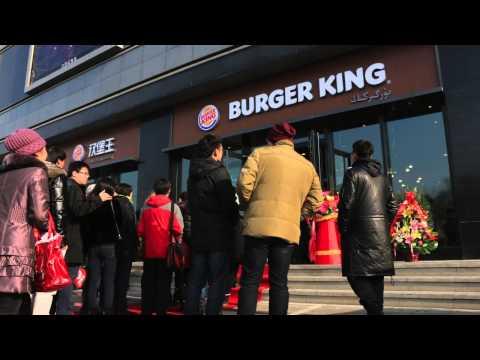 Burger King Opens its First Restaurant in Urumqi, Xinjiang (China)