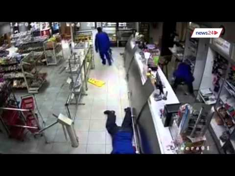 WATCH: Armed robbers