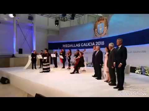 Feijóo fai entrega das Medallas de Galicia