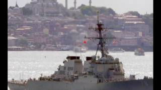 Новости сегодня  Эсминец НАТО в Черном море