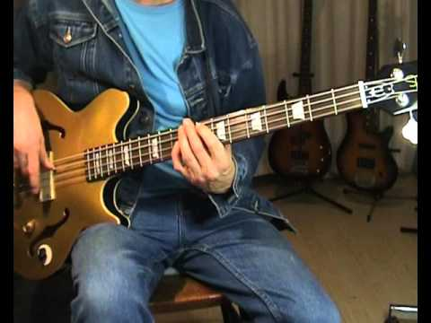 Otis Redding - Tramp - Bass Cover