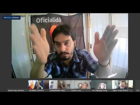 Luis Pacho (Cs) impide que se vote las propuestas de las asociaciones vecinales para los distritos