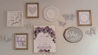LAVENDER & GOLD BABY GIRL NURSERY!