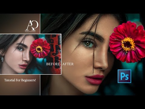 Photoshop Tutorial । How To Edit Portrait Color Grading In Photoshop। Presets Free Download !