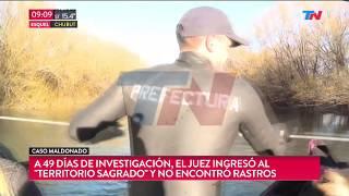 Maldonado: Así fue el allanamiento en 'Ttierra Sagrada'