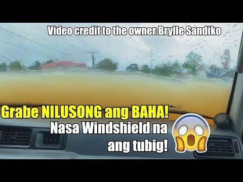 NILUSONG ANG BAHA ABOT WINDSHIELD NA ANG TUBIG L LC80 | CREDIT TO THE OWNER: Brylle Sandiko