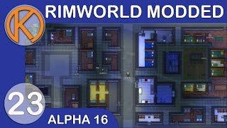 Rimworld Alpha 15 The Call Of Cthulhu Raid Selling Slaves
