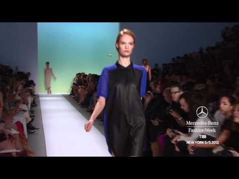 TIBI - MERCEDES-BENZ FASHION WEEK SPRING 2012 COLLECTIONS