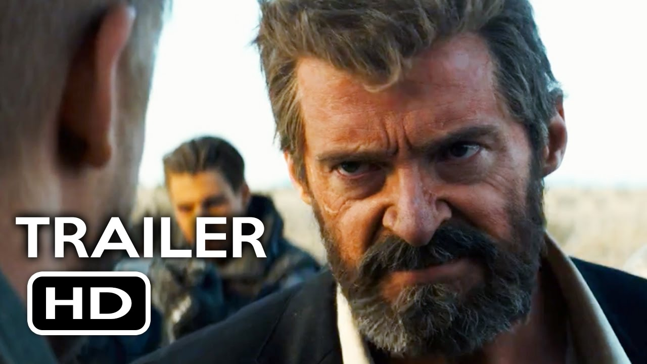Logan 2017 Movie Hd Wallpaper: Logan Official Trailer #1 (2017) Hugh Jackman Wolverine