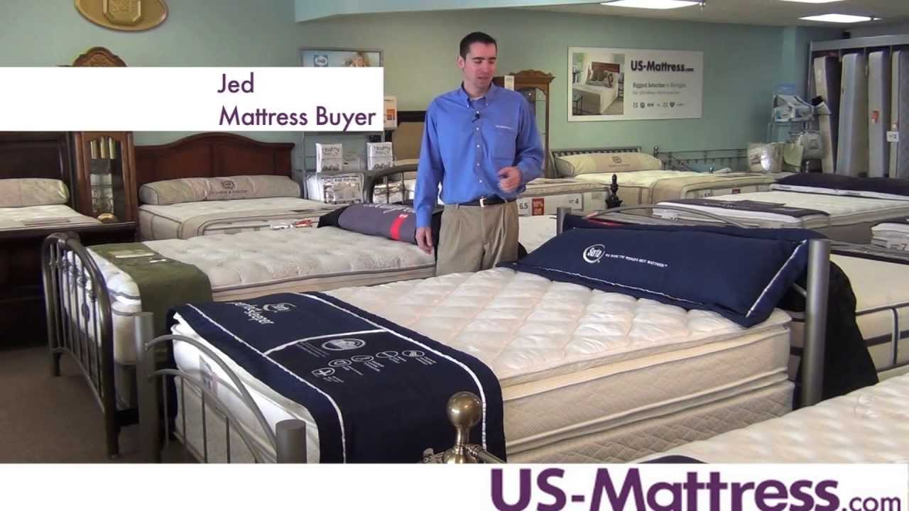 Serta Perfect Sleeper Presidential Suite Double Sided Pillowtop Mattress
