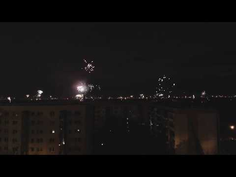 Silvester-Neujahr 2017/2018 Webcam Berlin-Nord