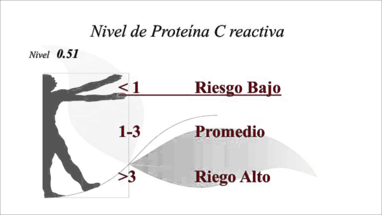 Proteina c reactiva cuantitativa valores altos