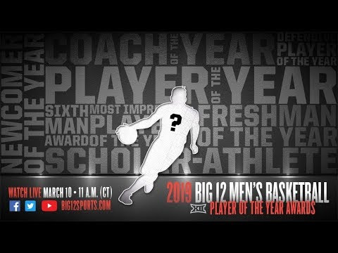 2018-19 All-Big 12 Men's Basketball Awards Announcement