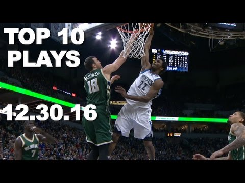 Top 10 NBA Plays of the Night 12.30.16