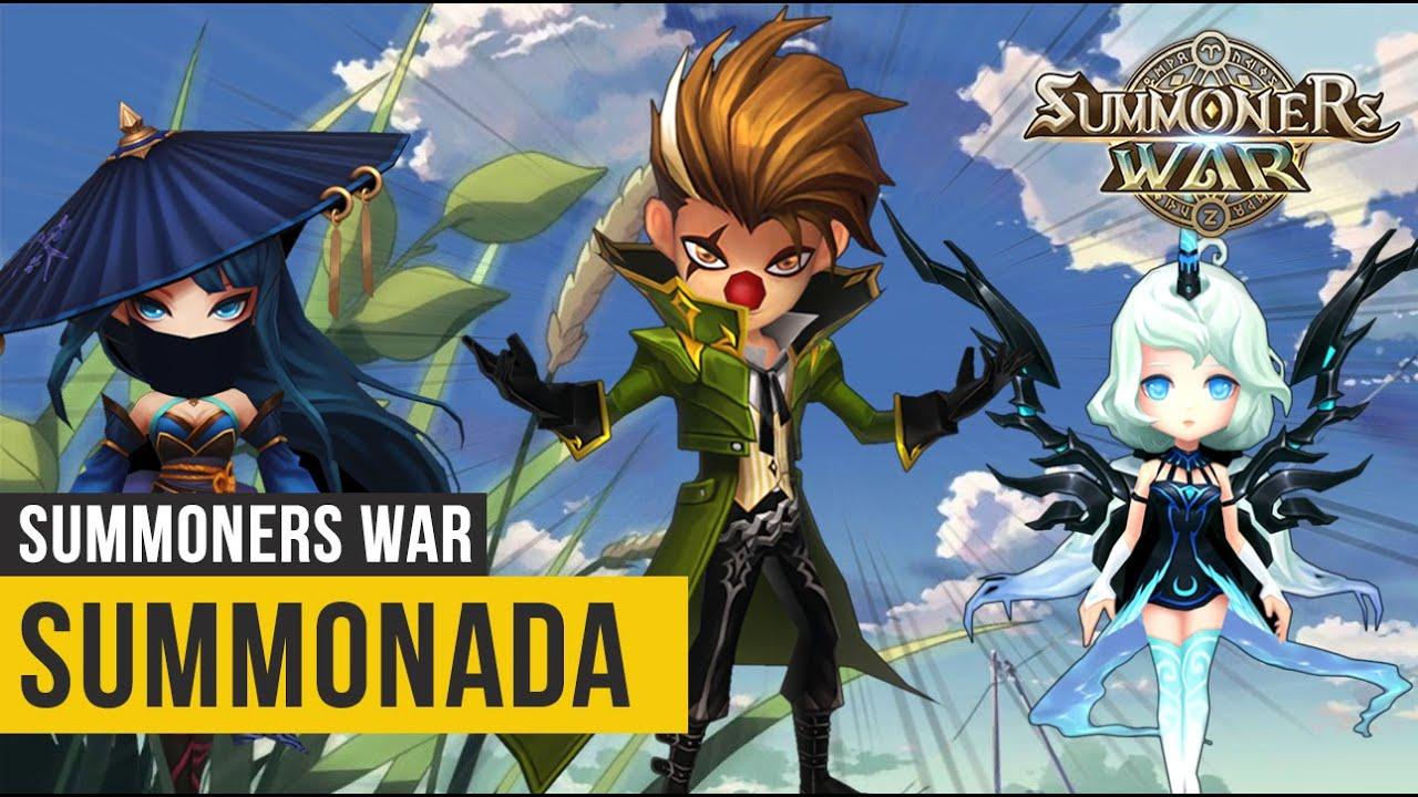 Mega Summonada Abençoada - Summoners War