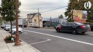 Police chase driver through Rainier