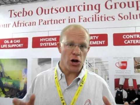 Royce Van Der Zwan - Tsebo - African Mining INDABA 2014