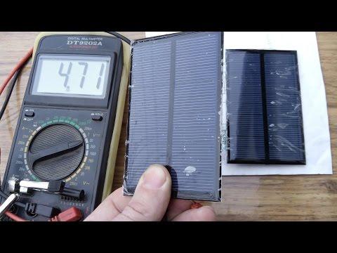 солнечная зарядка для телефона, своими руками)