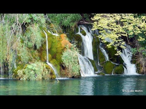 CROAZIA - LAGHI DI PLITVICE Patrimonio Unesco - Nacionalni park Plitvička jezera - HD