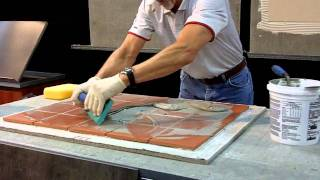 Stone Expo Las Vegas 2012 - Custom Building Products Show Off Their Ceg Lite Epoxy Grout