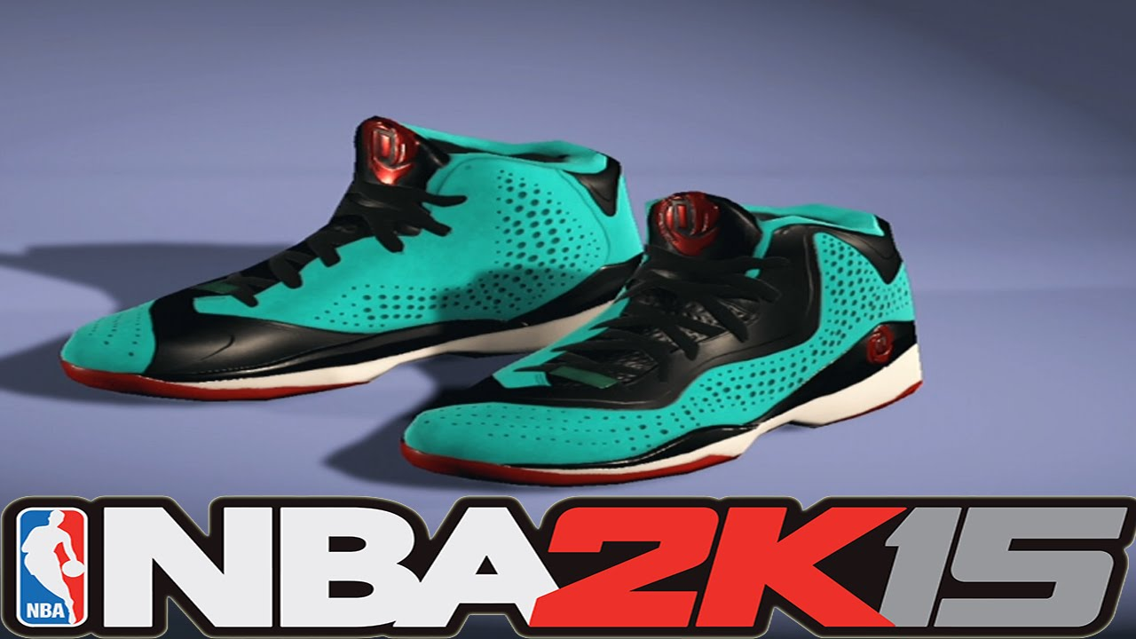 sale retailer b68c1 e315e NBA 2K15 Shoe Creator - adidas D Rose 773 3 Turquoise  Red NBA2K15 -  YouTube