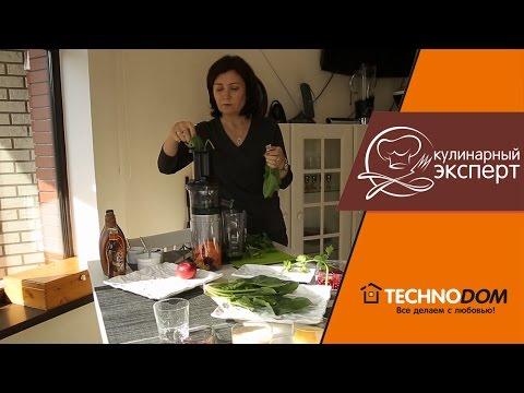 Обзор соковыжималки Panasonic MJ-L500.  Готовим соки из овощей, фруктов и зелени!