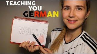 ASMR German Teacher