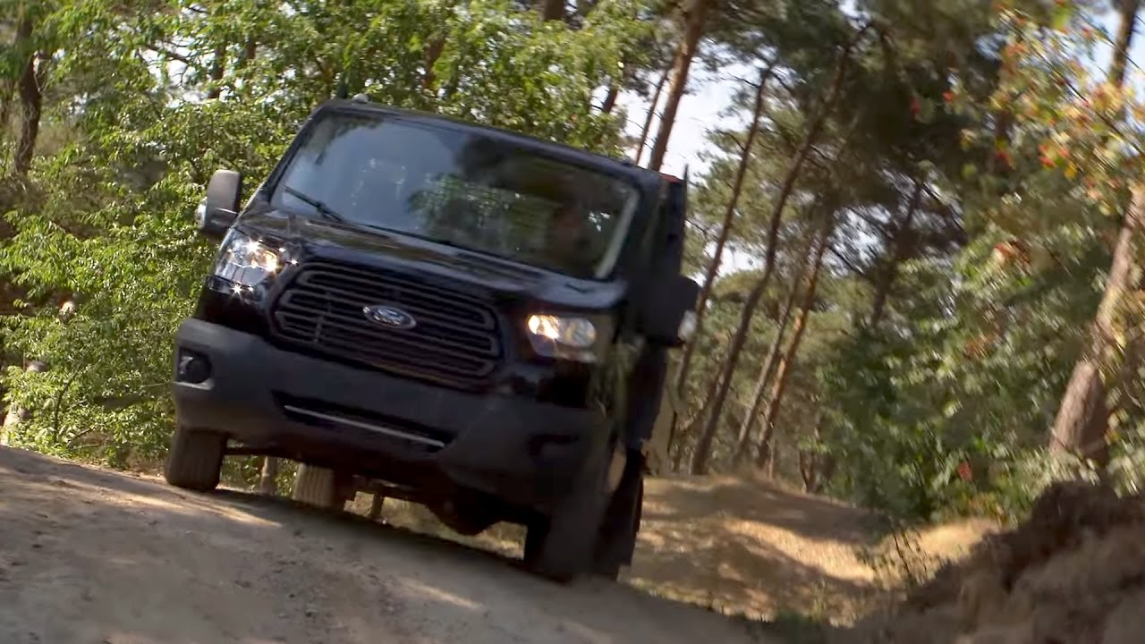 d5ee11e6fe03e1 Ford Transit Chassis Cab AWD - YouTube