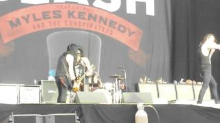 Slash ft. Myles Kennedy - Paradise City | Nottingham, ENGLAND | Download Festival | 14jun15