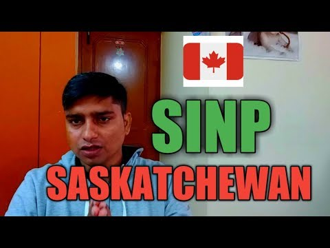 Saskatchewan Immigration Nominee Program 2018- Info Hunter TV