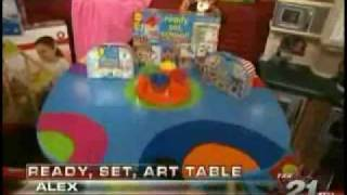 Ktxa Dallas And Metromoms Feature Alex Ready, Set, Art Table
