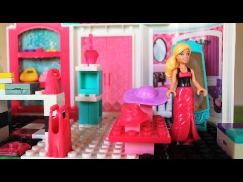 Mega Bloks Barbie Fashion Boutique Barbie Doll Life in a Dream House