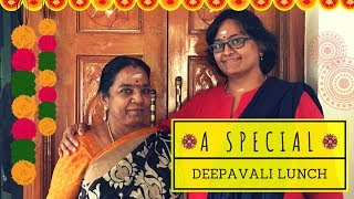Diwali day Special Lunch/Lunch cooking Vlog/Sivakasi Samayal/Video - 594