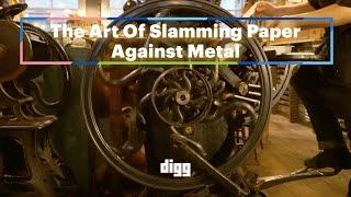 The Art Of Slamming Paper Against Metal