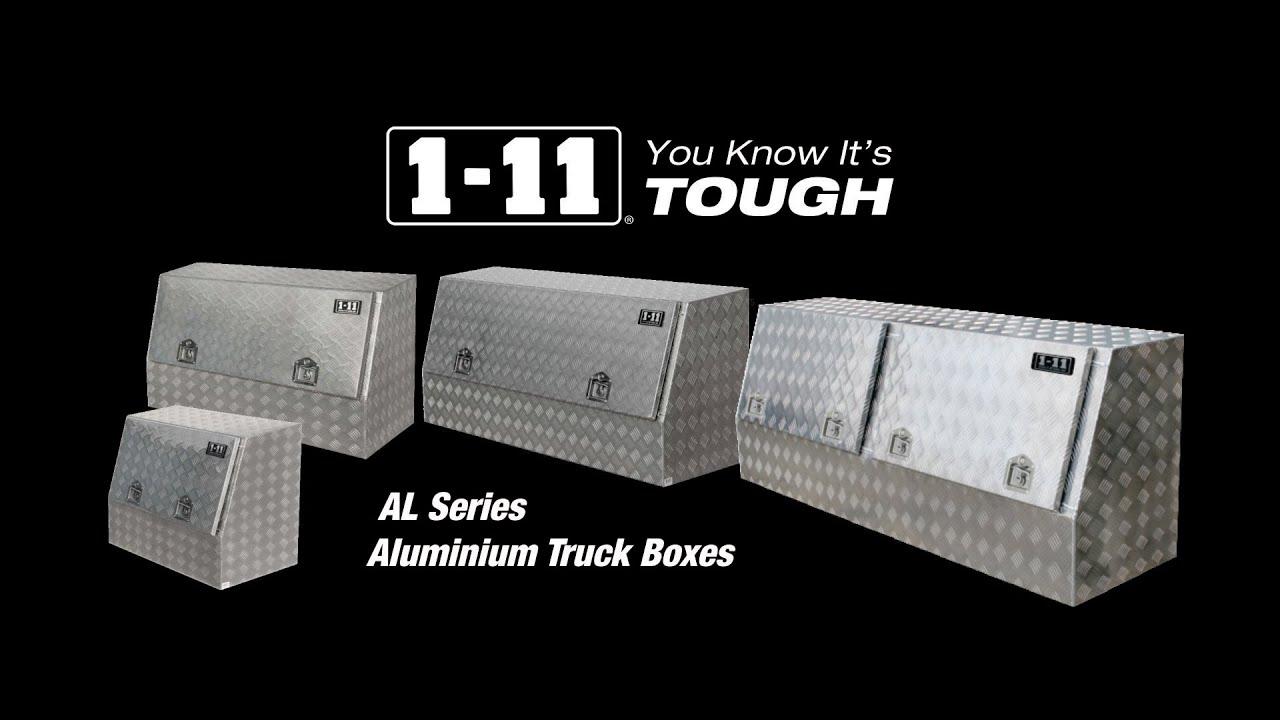 Aluminium Truck Box 1 11 The Perfect Ute Tool Box Youtube