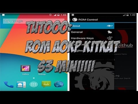Tuto-instalar AOKP kitkat 4.4.2 al s3 mini