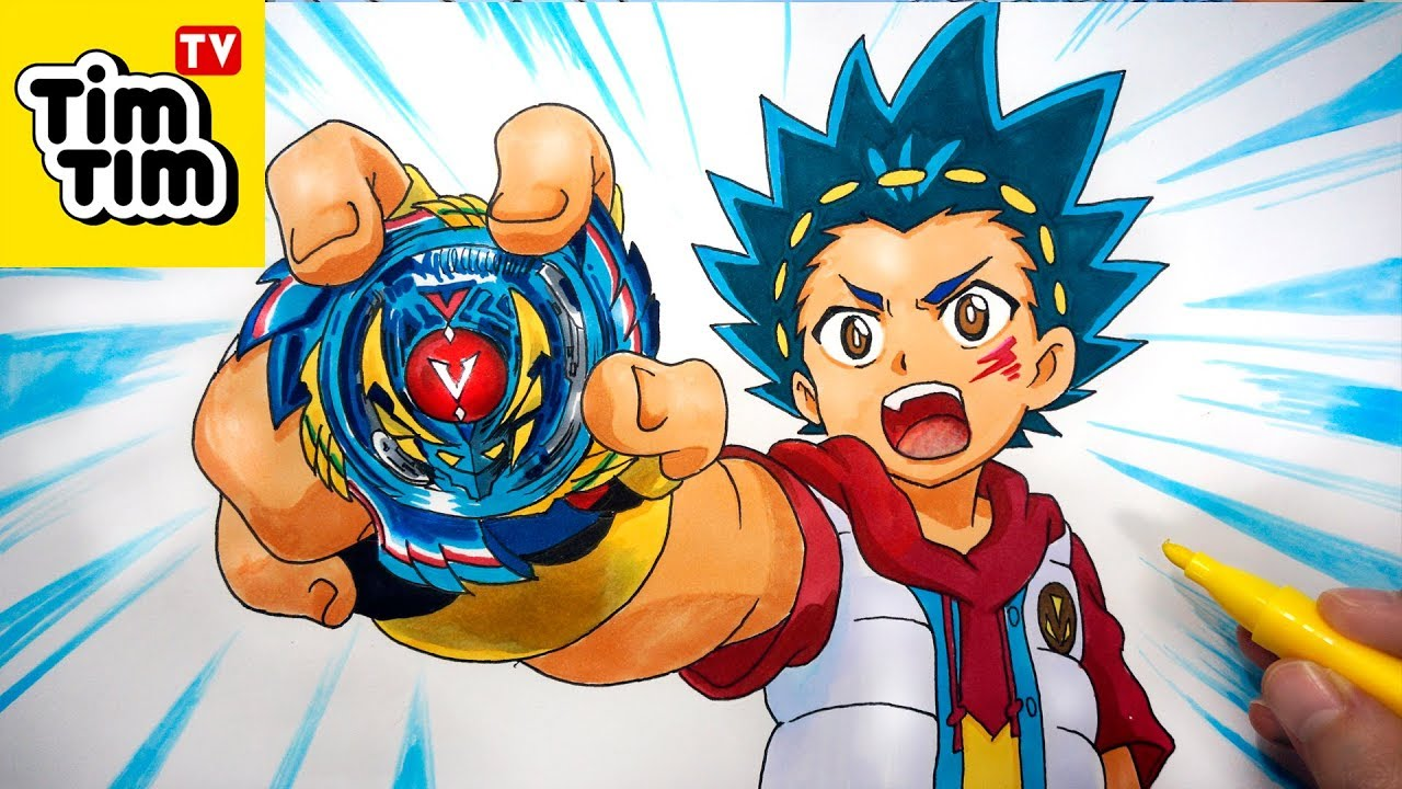 how to draw beyblade burst evolution valt aoi  genesis