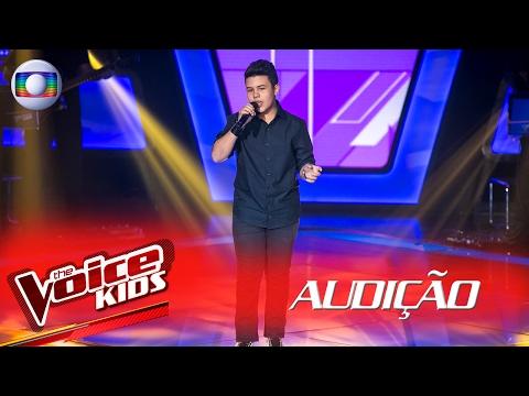 Gui Marques Canta 'Você Mudou' Na Audição –  The Voice Kids Brasil   2ª Temporada